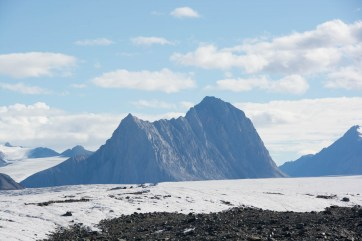 Ever present mountainous terrain was our backdrop.