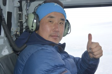 Jin Hong Kim our intrepid safety guide and radar brake-person (D.Mueller)