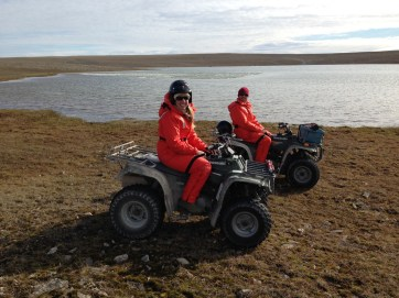 Melissa and on quads in Resolute.