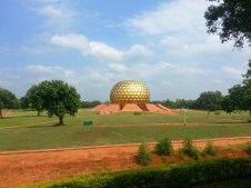 The center of the universe in Auroville