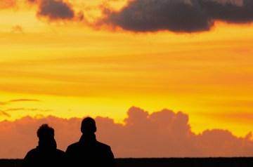 Sonnenuntergänge auf Rügen