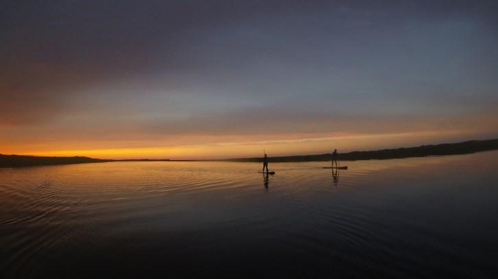 Stand Up Paddling – gestern auf Hawaii heute auf Rügen