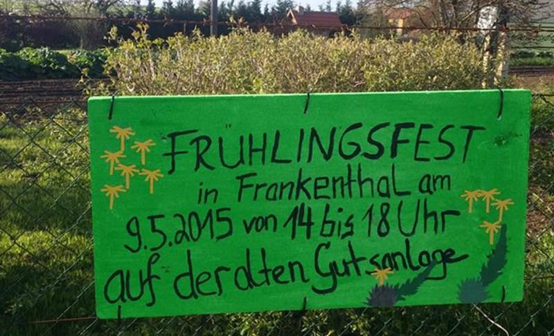 Regionales Frühlingsfest auf dem Gutshof Frankenthal auf Rügen