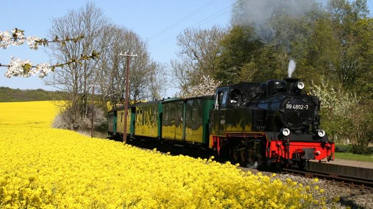 """Die Kleinbahn """"RASENDER ROLAND"""" feiert ihren 120. Geburtstag."""