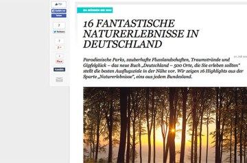 Ganz oben und vorn dabei: Rügen und Hiddensee Travelbook und Reisebuch favorisieren unsere Ferienregion