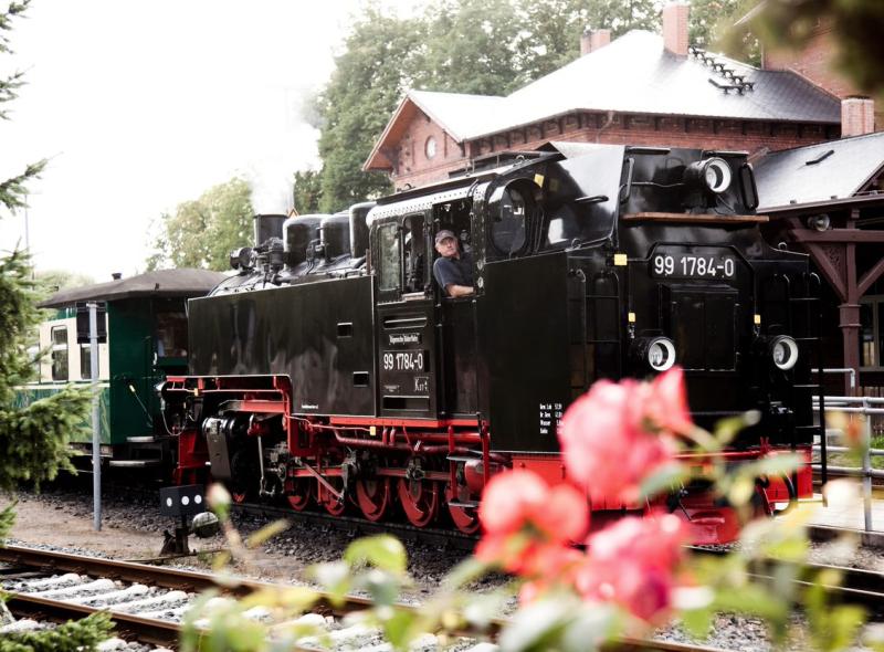 """Kleine Bahn auf großer Insel – der """"Rasende Roland"""""""
