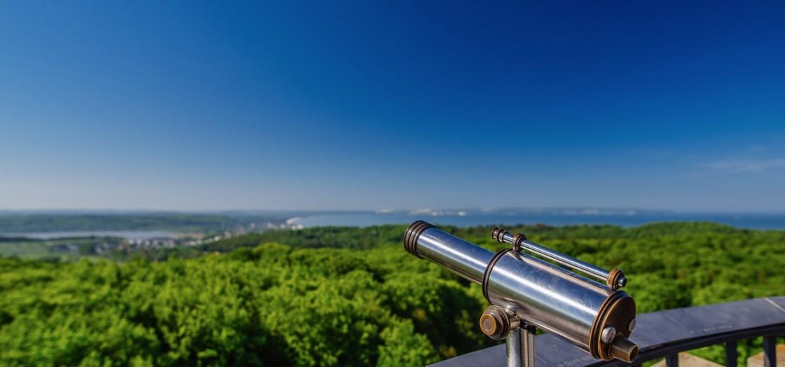Aussicht Jagdschloss Granitz