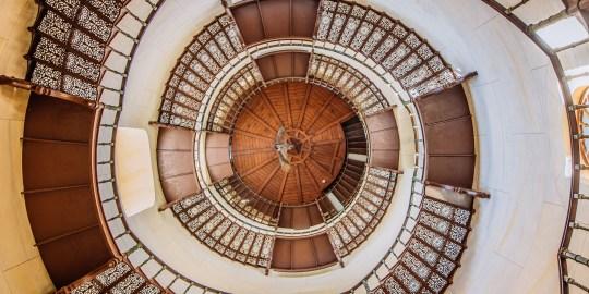 Treppe im Jagdschloss Granitz