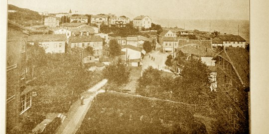 Sassnitz um 1900