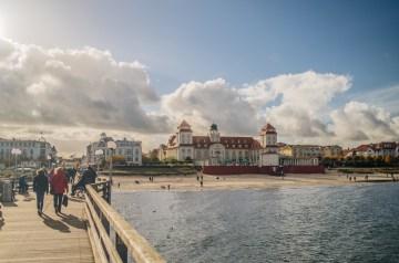 Mit Meerblick: 25 Jahre Seebrücke Binz