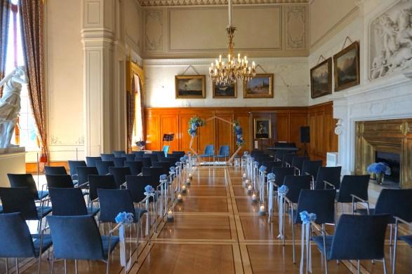 Trauung im Marmorsaal des Jagdschlosses Granitz