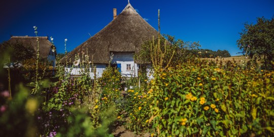 Ein Haus wie ein Zuckerhut: Das Pfarrwitwenhaus und das Rookhus