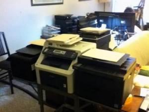 Laser vs. IJ Tested Printers