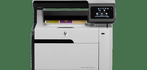 LaserJet Pro 300 color MFP M375nw