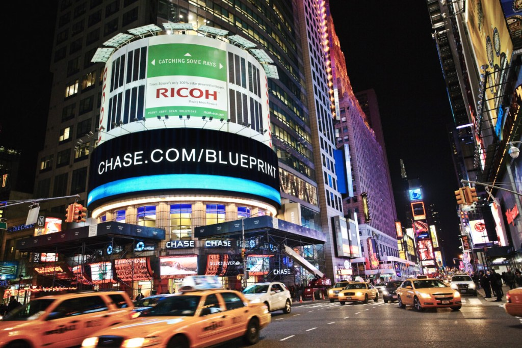 Ricoh Billboard Times Square