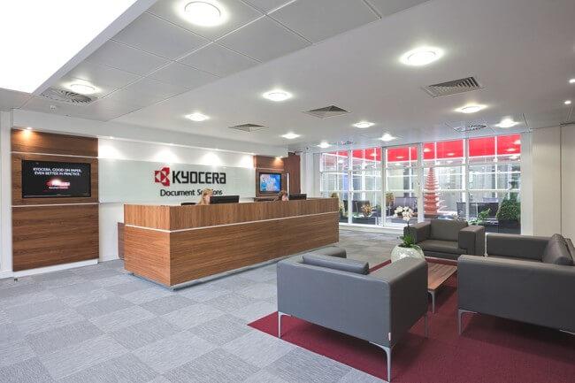 Kyocera UK HQ interior