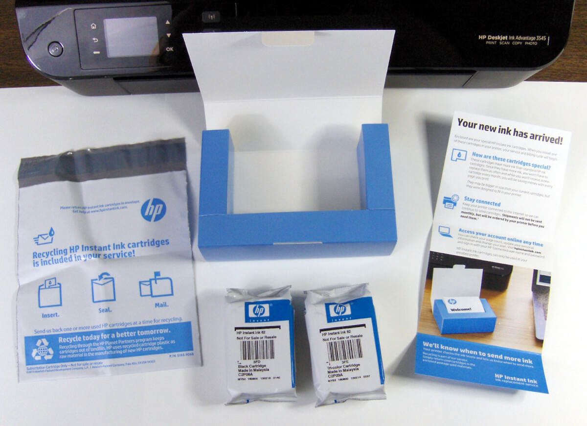 Hands On Review Hp Instant Ink Program Wirth Consulting