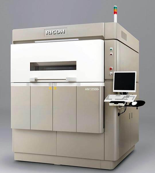 May 10, 2016 update - Ricoh AM S5500P 3D Printer