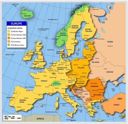 EMEA Map
