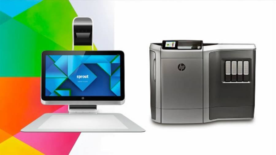 HP Sprout 3D PC and Fusion 3D Printer
