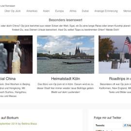 Screenshot opjueck.de