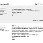 Kommentare bei der WiWo