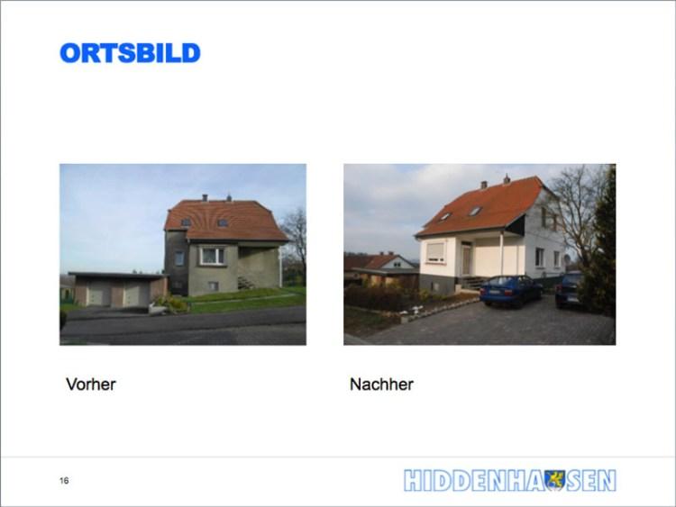 Ortsverschönerung in Hiddenhausen