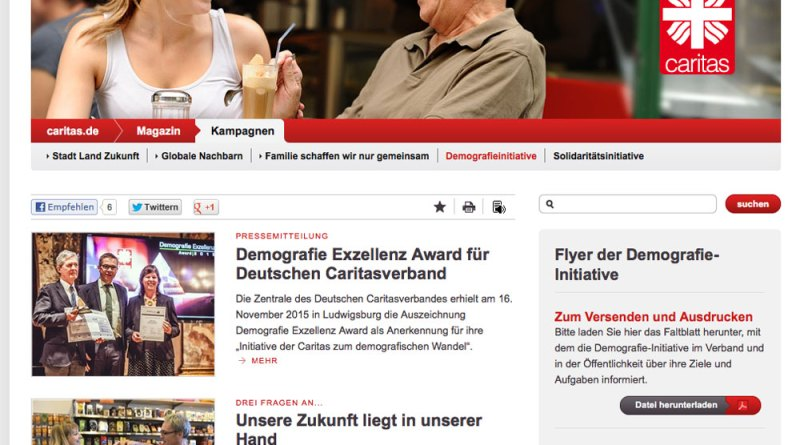 Screenshot Caritas