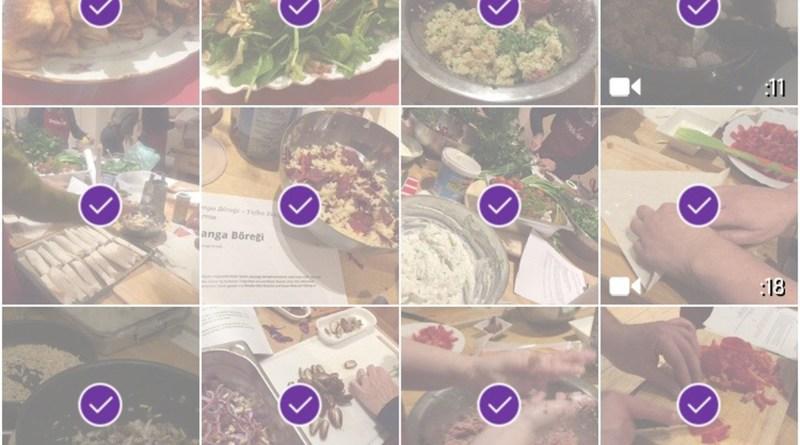 Fotos und Videos auswählen