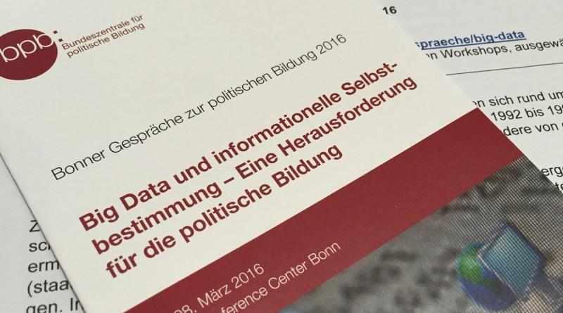 Big Data Konferenz in Bonn