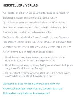 Screenshot Club der Produkttester