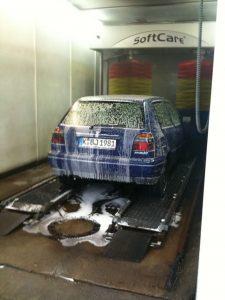 Mein Auto am Tag vorm Verkauf