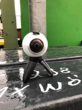360-Grad-Kamera im Einsatz