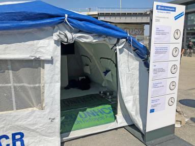 UNHCR bei der #rp18