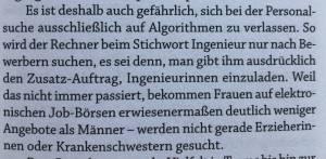 Algorithmen und die Folgen - aus Mensch 4.0