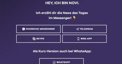 Nachrichten per Messenger