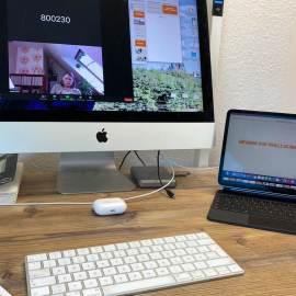 So sieht der Tisch mit Apples Sidecar aus