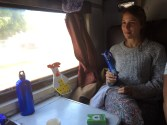 Friedas first train journey