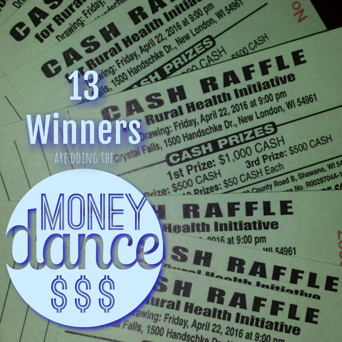 cash raffle winners announced rural health initiative the 13 winners were announced live at the annual event 4 winners present including the 1st place winner jess jesse collar of hortonville wi
