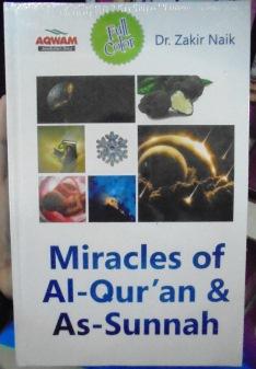 Miracles of Al Quran dan As Sunnah Buku Dr Zakir Naik Penerbit Aqwam
