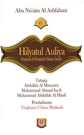 Download terjemah kitab hilyatul auliya pdf Jilid 06