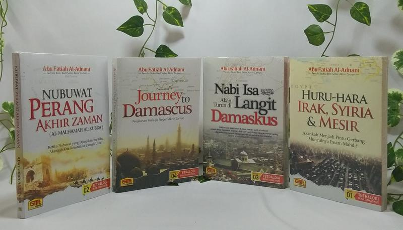 Serial Buku Tetralogi Bumi Damaskus Abu Fatiah Al Adnani Penerbit Granada Mediatama