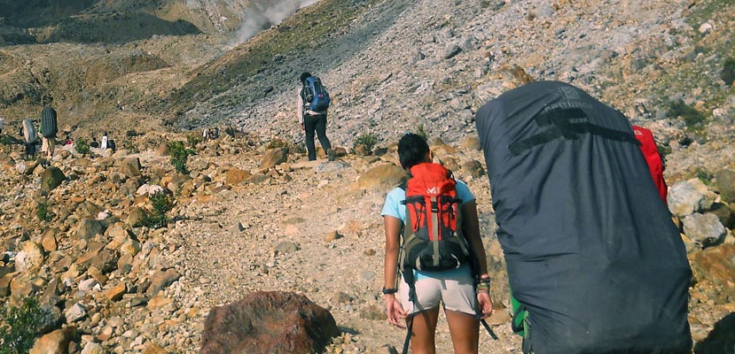 mendaki gunung gede pangrango