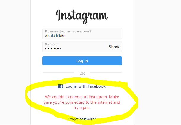 Cara mengatasi kenapa instagram tidak bisa dibuka hari ini 14 maret