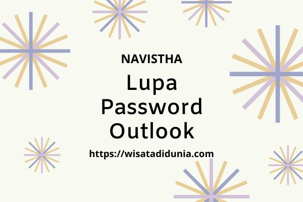 lupa password outlook