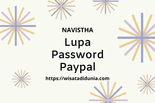 lupa password paypal