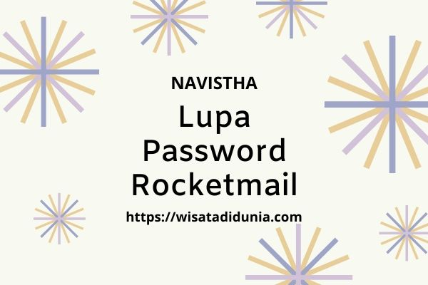 lupa password rocketmail
