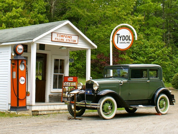 Boothbay Railway Village lets you ride a train around a village made of historic buildings and classic cars. 12 miles from Wiscasset Woods Lodge