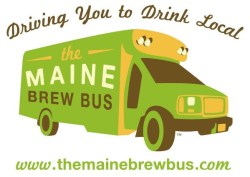 Logo for the Maine Brew Bus