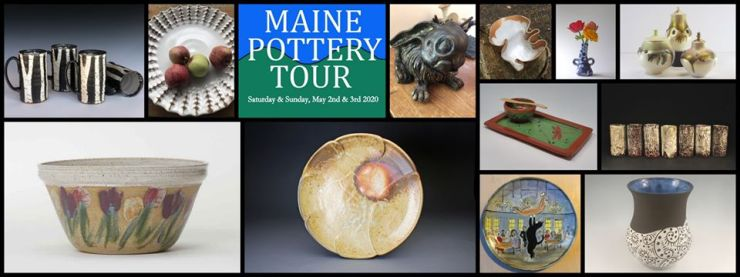 Maine Pottery Weekend ad